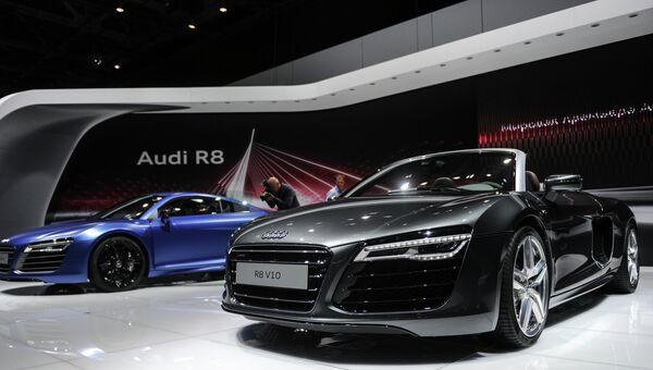 Автомобили Audi. Архивное фото