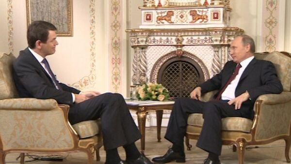 Путин об иностранных агентах, российских деньгах на Кипре и войне в Сирии