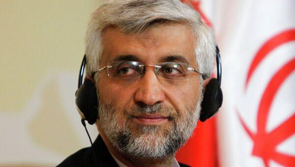 Cекретарь Высшего совета национальной безопасности Ирана Саид Джалили в Алма-Ате