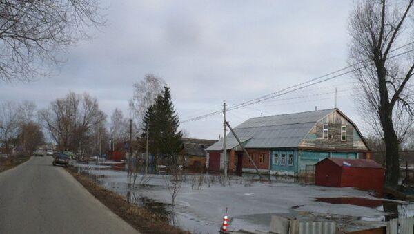 Паводок в Мордовии