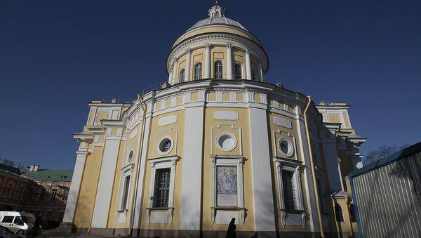 Александро-Невская лавра в Петербурге