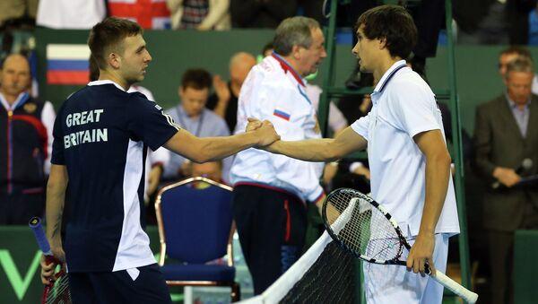 Дэн Эванс и Евгений Донской (слева направо)
