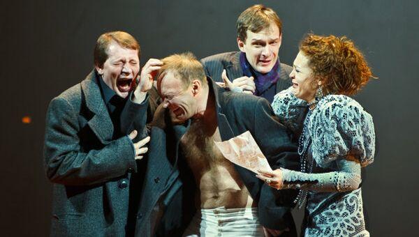 Сцена из спектакля по пьесе Антона Чехова Без названия Театра драмы имени Ф. Волкова