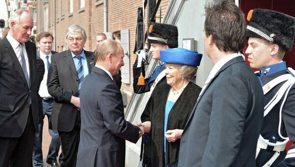 Рабочий визит В.Путина в Нидерланды