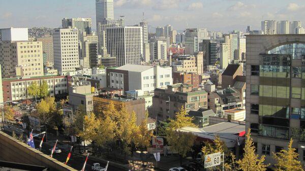 Виды Сеула. Архивное фото