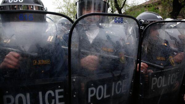 Наряд полиции. Архивное фото