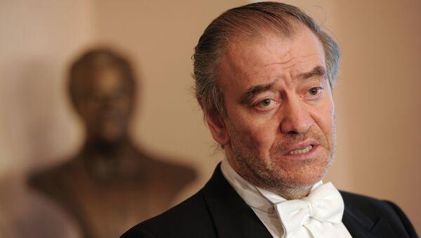 Художественный руководитель Мариинского театра, дирижер Валерий Гергиев, архивное фото