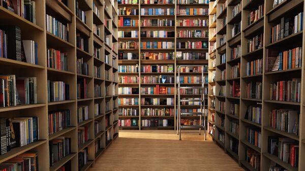 Библиотека, архивное фото