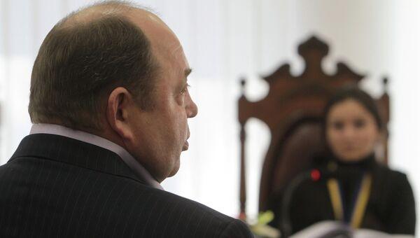 Заседание суда по делу об убийстве депутата Евгения Щербаня