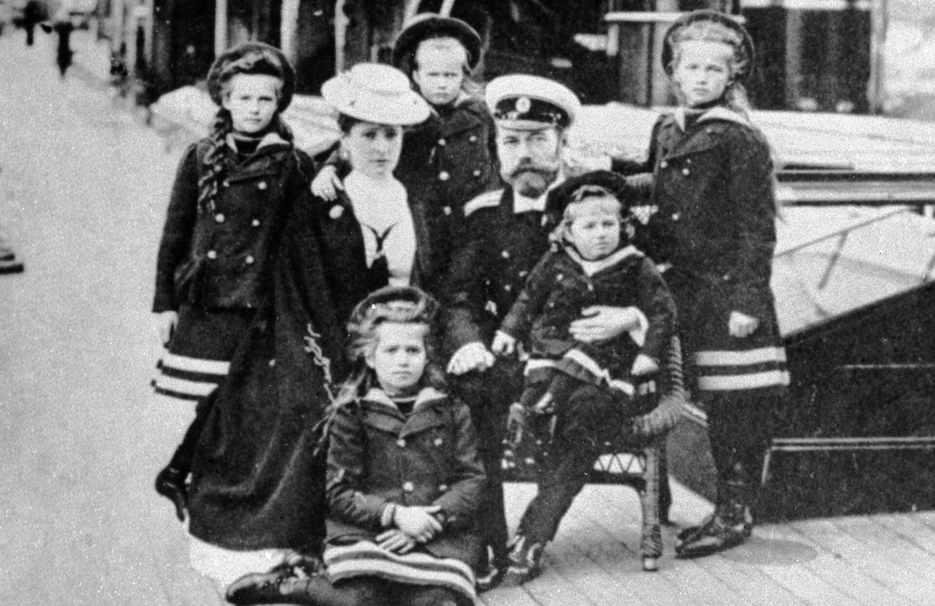 Императорская семья - РИА Новости, 1920, 27.08.2021