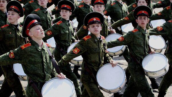 Подготовка курсантов Уссурийского Суворовского военного училища