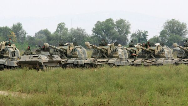 Тактические учения Сухопутных войск. Архивное фото