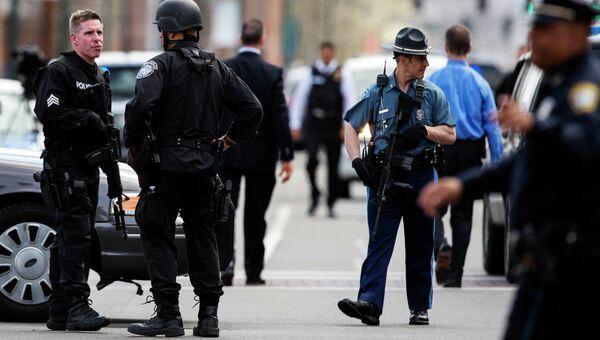 Спецоперация по розыску подозреваемого в Бостонских терактах