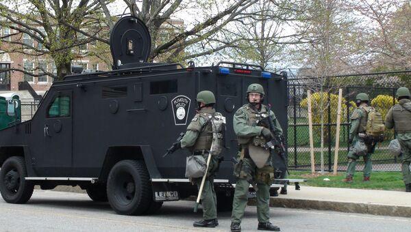 Уотертаун, где идет спецоперация по задержанию Джохара Царнаева