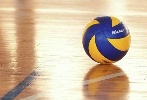 Волейбольный мяч, архивное фйото
