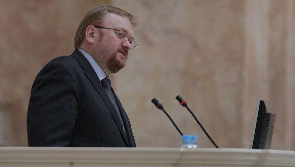 Депутат законодательного собрания Санкт-Петербурга Виталий Милонов. Архивное фото