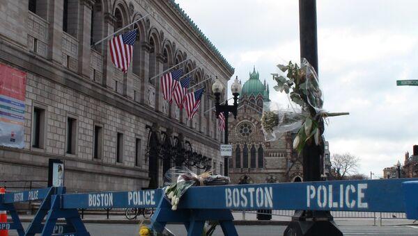 Бостон после теракта