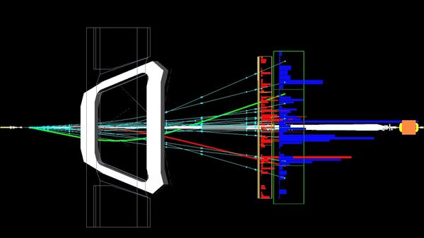 Распад B-мезонов в детекторе LHCb Большого адронного коллайдера
