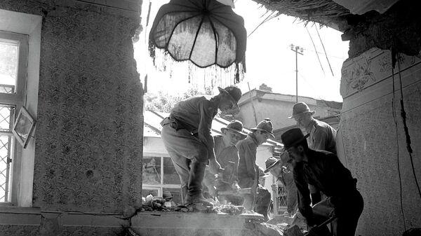 После землетрясения в Ташкенте