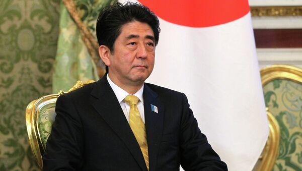 Премьер-министр Японии Синдзо Абэ, архивное фото.