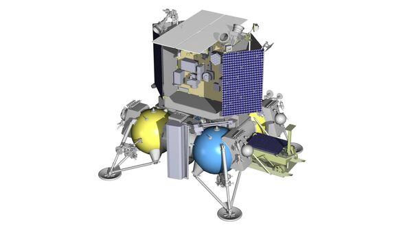 Посадочный зонд Луна-Ресурс. Архив