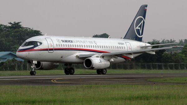Разбившийся в Индонезии самолёт SSJ-100 перед последним взлётом