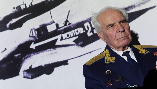 Генерал-майор авиации в отставке, ветеран Великой Отечественной войны Алексей Никифорович Рапота