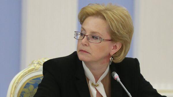 Министр здравоохранения РФ Вероника Скворцова. Архив