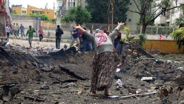 Два взрыва прогремели в турецком городе Рейханлы, погибли 18 человек