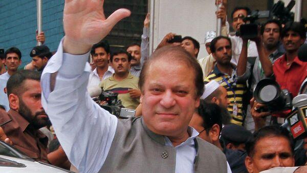 Наваз Шариф - лидер партии Пакистанская мусульманская лига