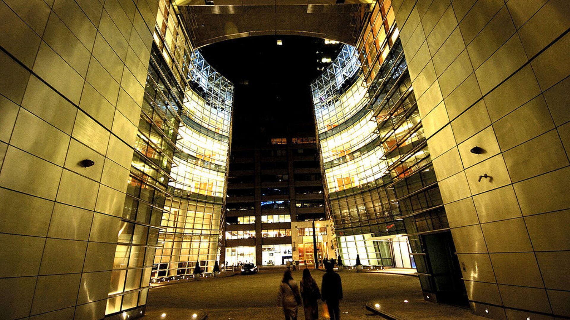 Офисное здание, в котором располагается компания Bloomberg - РИА Новости, 1920, 18.09.2021