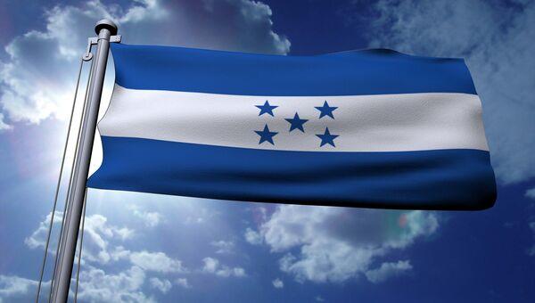 Флаг Гондураса. Архивное фото