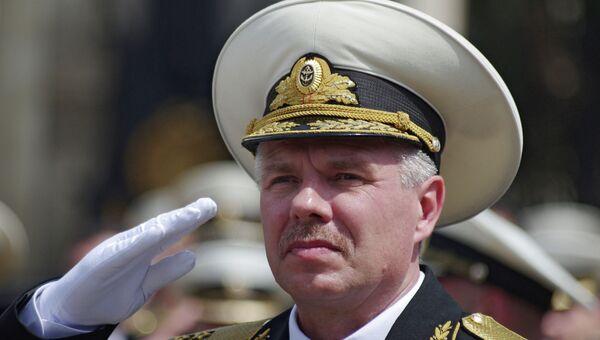 Вице-адмирал Александр Витко. Архивное фото