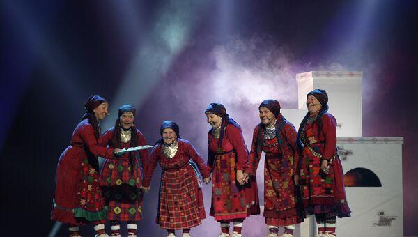 Коллектив Бурановские бабушки, архивное фото.
