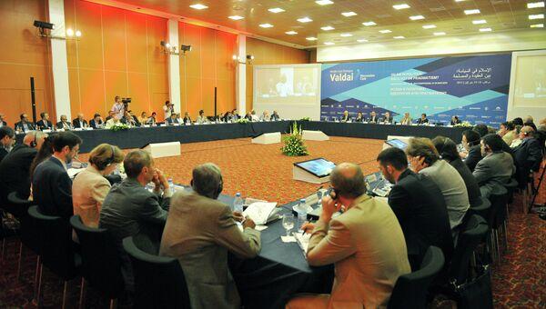 Клуб Валдай обсуждает роль ислама в политике после арабской весны