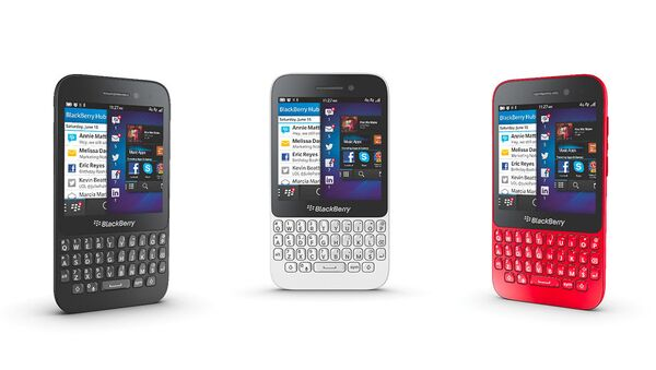 BlackBerry. Архивное фото