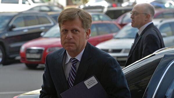 Посол США в России Майкл Макфол прибыл в МИД РФ