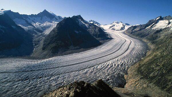 Альпийский ледник. Архив
