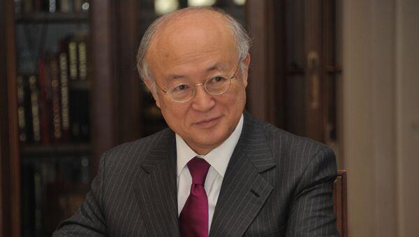 Генеральный директор МАГАТЭ Юкиа Амано. Архивное фото