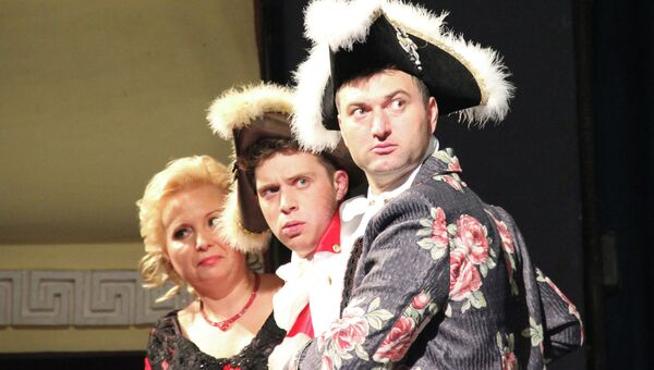 Благотворительный спектакль в Костроме
