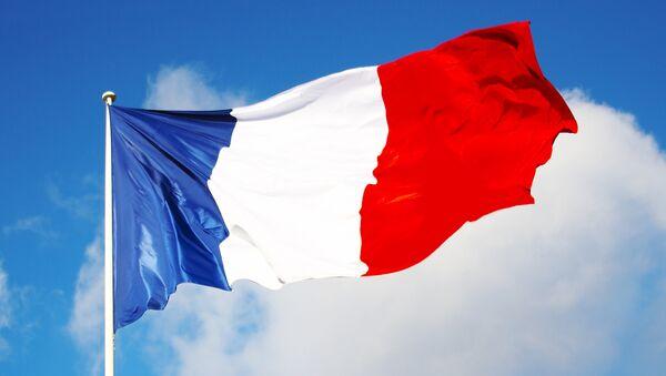Флаг Франции, архивное фото