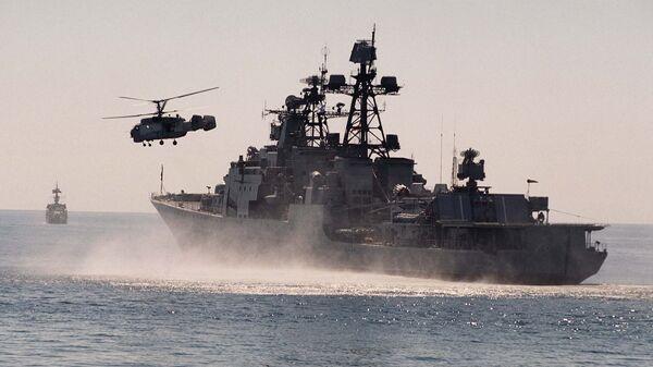 Корабль ТОФ Адмирал Трибуц. Архивное фото