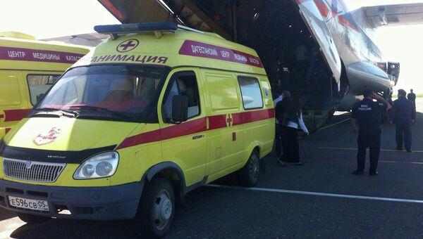 Пострадавшие при теракте в Махачкале отправлены в Москву