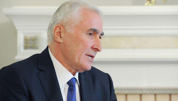 Главой Южной Осетии Леонид Тибилов