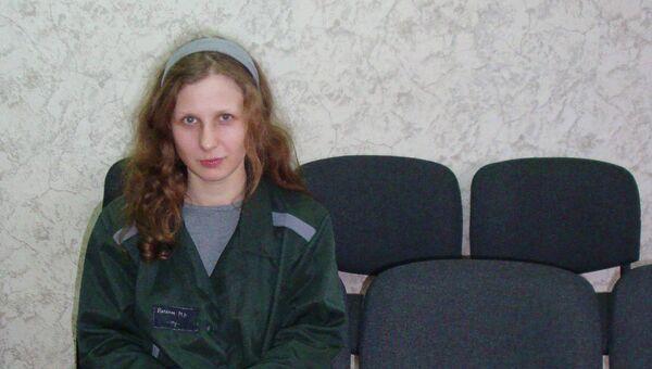 Мария Алехина в исправительной колонии №28 в городе Березники
