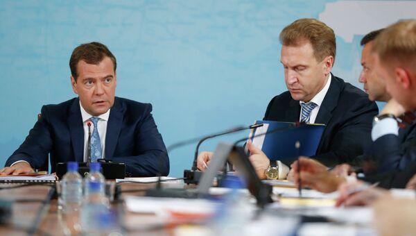 Рабочая поездка Д.Медведева в Рязанскую область