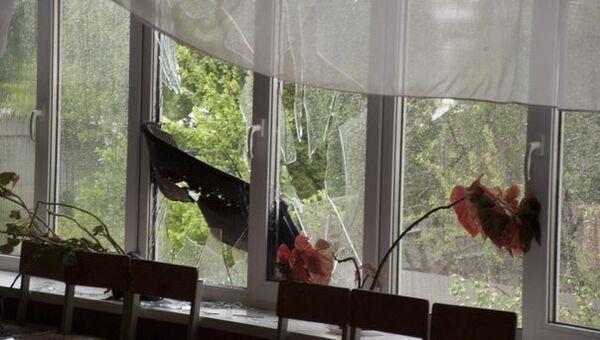 Последствия сильного ветра в городе Ефремов Тульской области