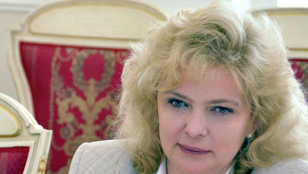 Петербургский детский омбудсмен Светлана Агапитова. Архивное фото