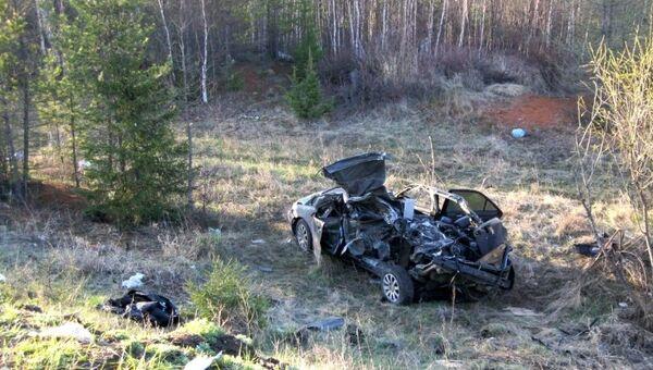 Четыре человека погибли в ДТП на трассе в Иркутской области