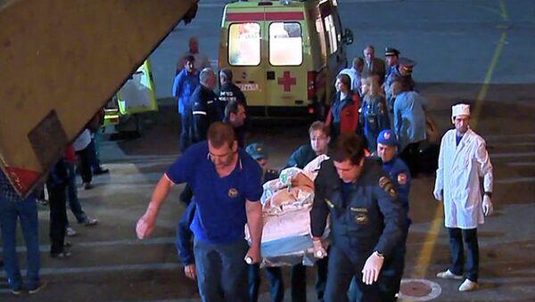 Трое раненых при взрывах в Махачкале отправлены в Москву